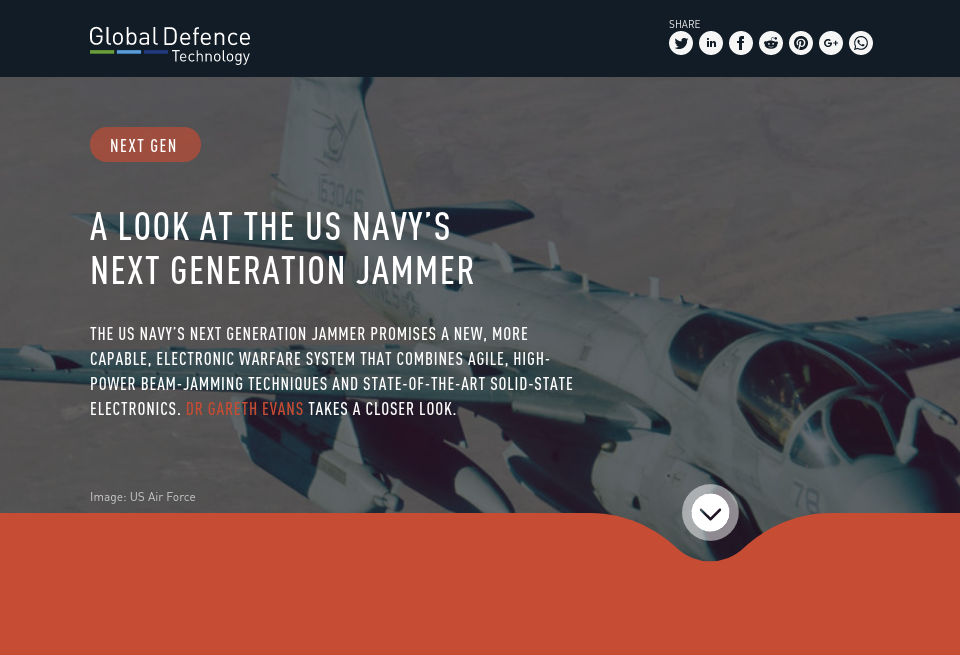 A look at the US Navy's Next Generation Jammer - Global